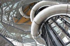 Weltweit am höchsten hölzerner Aussichtsturm Stockfoto