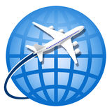 Weltweit reisend stockfotos