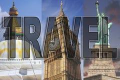 Weltweite Reise lizenzfreies stockbild
