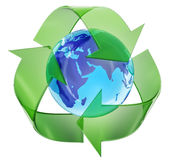 Weltweiter Umweltschutz Stockfoto