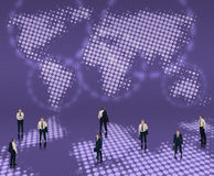 Weltweites Geschäftskonzept Lizenzfreies Stockbild