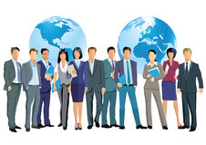 Weltweites Geschäft Stockbild