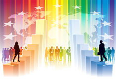 Weltwettbewerb Lizenzfreie Stockfotos