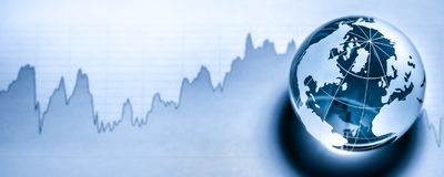 Weltwirtschaft lizenzfreie stockbilder