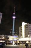 Weltzeituhr Berlim Foto de Stock Royalty Free