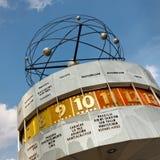 Weltzeituhr (World Clock), Berlin, Germany Royalty Free Stock Photography