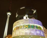 Weltzeituhr (World Clock), Berlin, Germany Stock Images