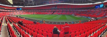 Wembley панорамное Стоковое Изображение RF