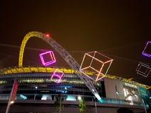 wembley спички london королевства футбола соединенное стадионом стоковые фотографии rf
