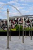 wembley för stadion för fotbollkungarikelondon match enig Royaltyfria Bilder