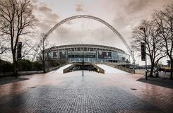 Wembley football stadium, London UK Stock Image