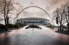 Wembley stadion futbolowy, Londyn UK obraz stock
