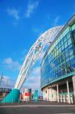 Wembley stadion i London, UK Arkivfoto