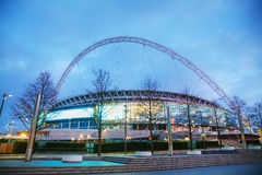 Wembley-Stadion in London, Großbritannien Stockfotografie