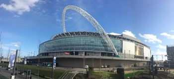 Wembley Stadium Royalty Free Stock Photography
