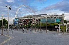 Wembley stadium. LONDON - JUly 5 : Wembley Stadium, London on July 05, 2014 Royalty Free Stock Photography