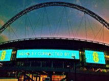 Wembley stadium Royalty Free Stock Photo