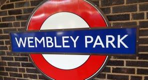 Wembley Stadium, parque de Wembley, a casa do futebol inglês foto de stock royalty free