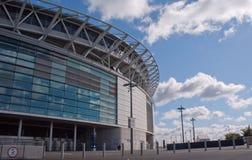 Wembley stadium at a sunny day Stock Photo