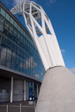 Wembley stadium at a sunny day Royalty Free Stock Photo