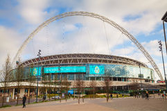 Wembley stadium w Londyn, UK Zdjęcia Stock