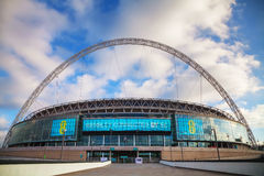 Wembleystadion in Londen, het UK Royalty-vrije Stock Fotografie