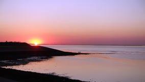 Wemeldinge sunset Royalty Free Stock Photos