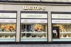 Wempe sklep w Dusseldorf, Niemcy Zdjęcia Royalty Free