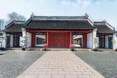 Wen Miao confucius temple shanghai china Royalty Free Stock Photos