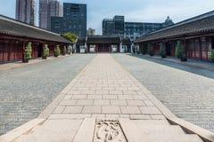 Wen Miao confucius temple shanghai china Stock Image