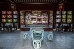 Wen Miao confucius temple shanghai china Stock Image