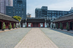 Wen Miao confucius temple Shanghai China Royalty Free Stock Image