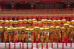 Wen Wu Temple, lago Sunmoon, Taiwán Fotos de archivo