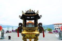 Wen Wu Temple, lago Sunmoon, Taiwan Fotografia Stock