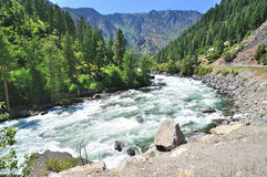 Wenatchee river Royalty Free Stock Photos