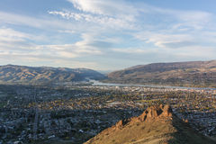 Wenatchee from Saddle Rock 3 Stock Photos