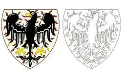 Wenceslas eagl - Blazon Stockbilder