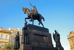 Wenceslas Monument Στοκ Φωτογραφίες