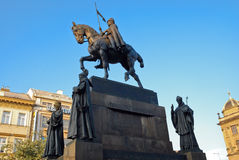 Wenceslas Monument Stock Photos