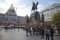 Wenceslas Square Fotos de Stock Royalty Free