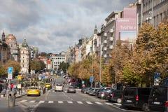 Wenceslas Square Foto de Stock Royalty Free