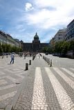 Wenceslas Square Royalty Free Stock Photo