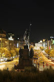 The Wenceslas Square, Prague Stock Photos