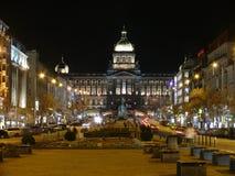 Wenceslas Square Prague Foto de archivo libre de regalías