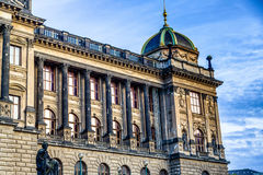 Wenceslas Square in Prague Royalty Free Stock Photography