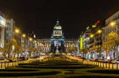 Wenceslas Square (Vaclavske Namesti) Immagine Stock Libera da Diritti