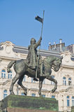 Wenceslas Statue Stock Image