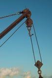 Wench della barca Immagini Stock Libere da Diritti