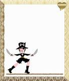 Wench van de piraat stock illustratie