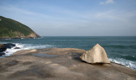 Wenchang large concave of the bay Stock Image